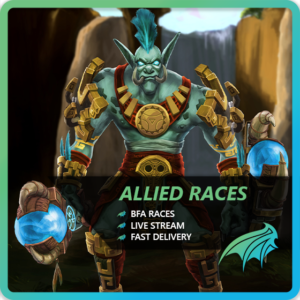 WoW Allied Races Boost