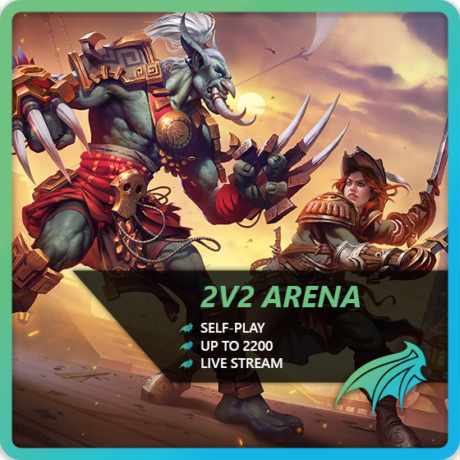 WoW 2v2 Arena Boost