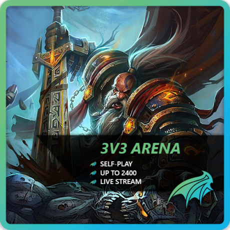 WoW 3v3 Arena Boost