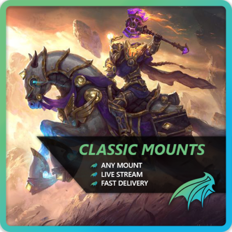 WoW Classic Mount Boost
